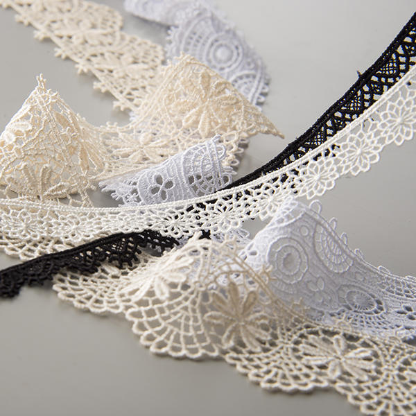 Embroidered Chemical Lace