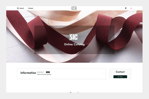 "We Launched Our New Designed ""S.I.C. Online Catalogue"""