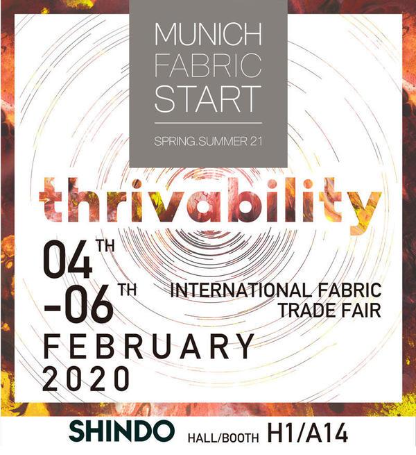 Exhibition News / MUNICH FABRIC START SPRING/SUMMER 21 EXHIBITION