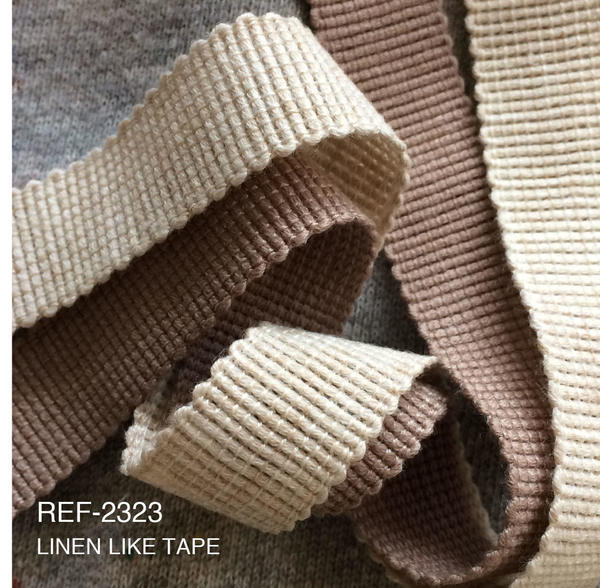 New Item : REF-2323   LINEN LIKE TAPE