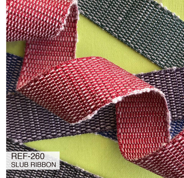 New Item : REF-260  SLUB RIBBON