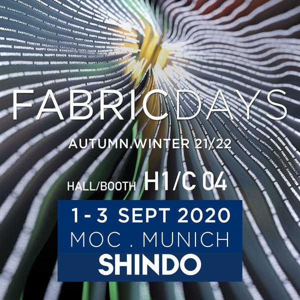 Exhibition News / FABRICDAYS  AUTUMN.WINTER 21/22 EXHIBITION
