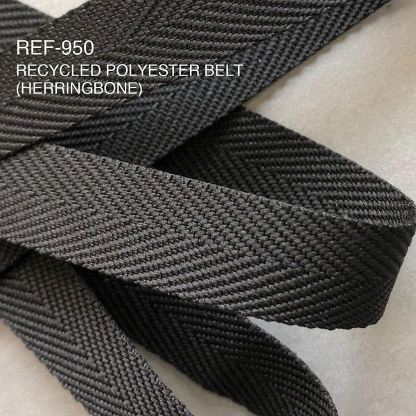 New Item : REF-950 / RECYCLED POLYESTER BELT(HERRINGBONE)