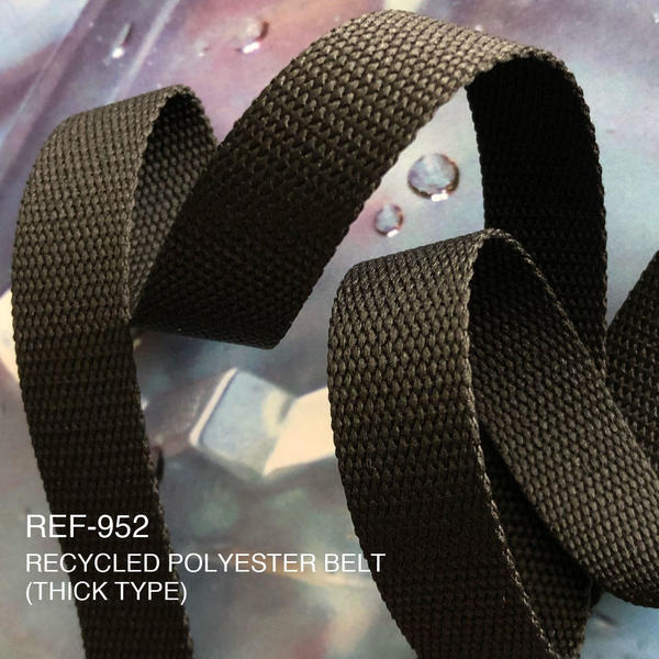 New Item : REF-952 / RECYCLED POLYESTER BELT(THICK TYPE)
