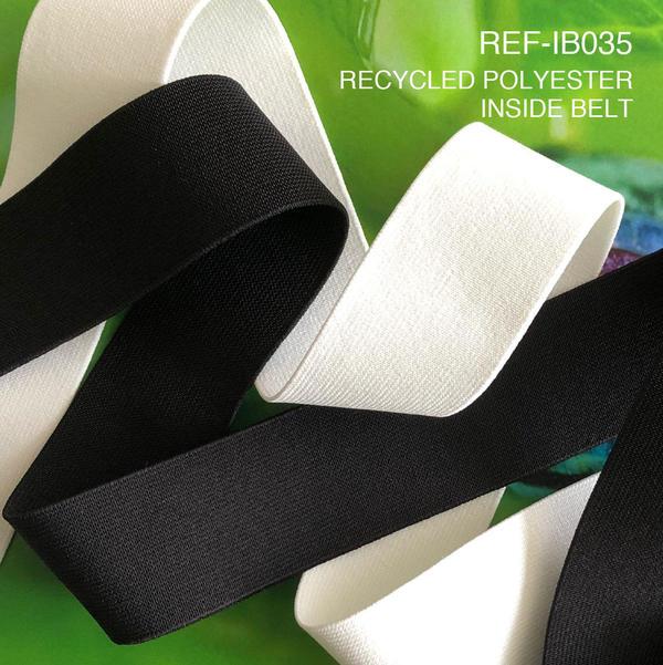 New Item : REF-IB035 / RECYCLED POLYESTER INSIDE BELT