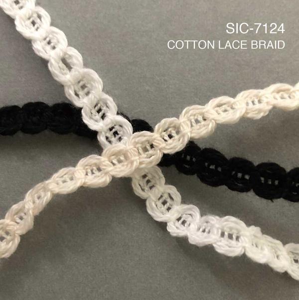 New Item : SIC-7124 / COTTON LACE BRAID