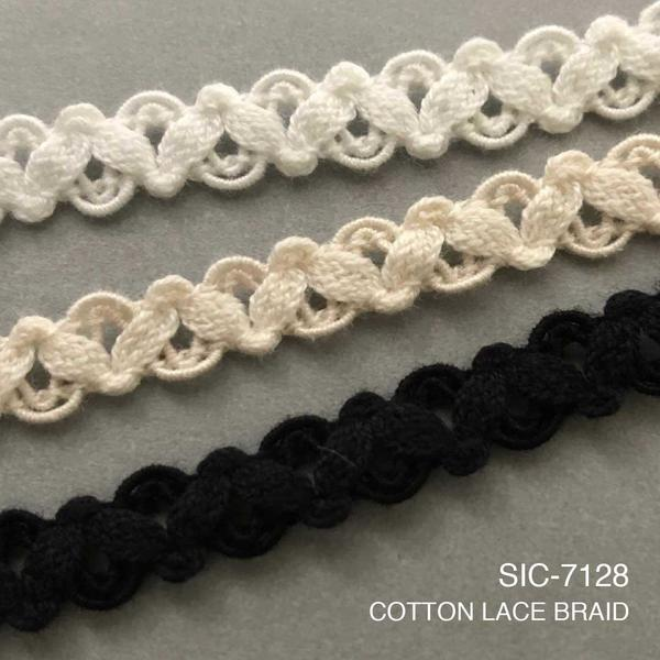 New Item : SIC-7128 / COTTON LACE BRAID