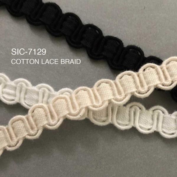 New Item : SIC-7129 / COTTON LACE BRAID