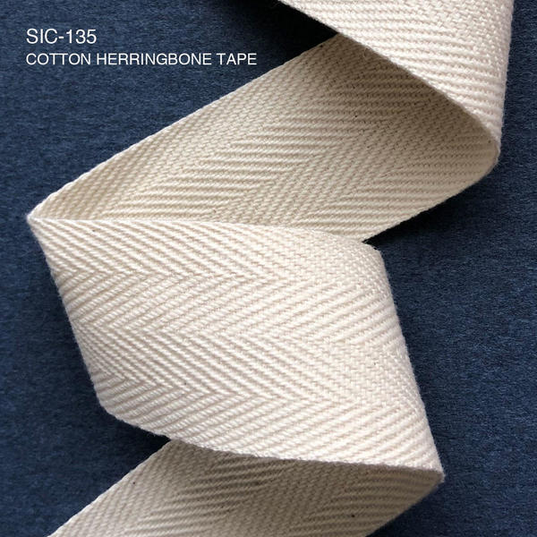 S.I.C.商品のご紹介/SIC-135  コットンヘリンボーンテープ(1.0mm)
